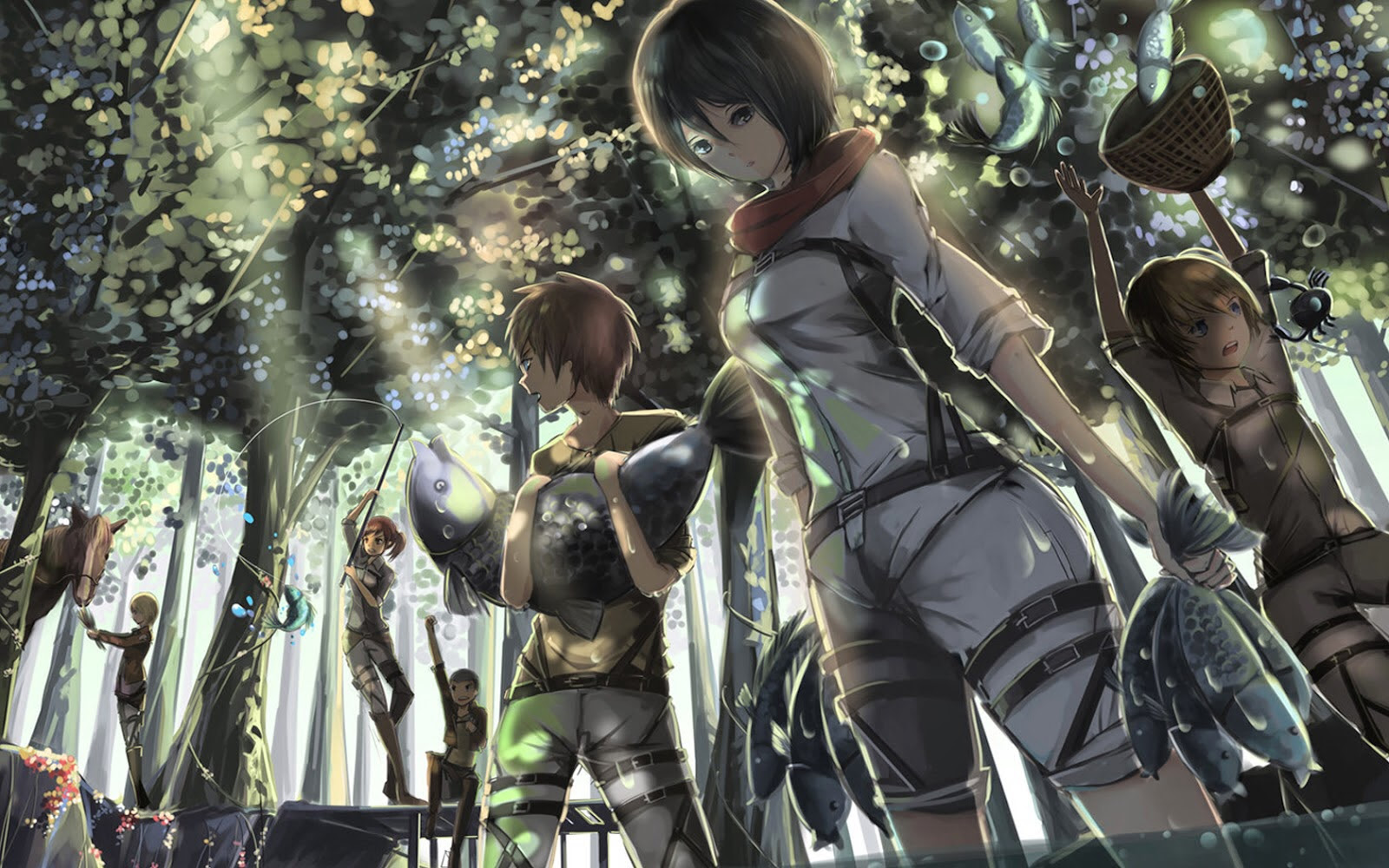Scouts Wallpaper Shingeki No Kyojin Attack On Titan Wallpaper 37659650 Fanpop