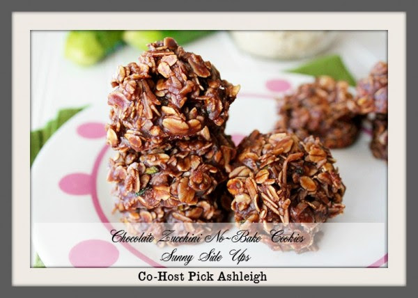 Chocolate Zucchini No Bake Cookies Co Host Pick Ashleigh 7-13