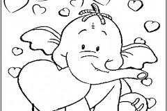 Dibujos Para Colorear De Animales Tiernos Bebes