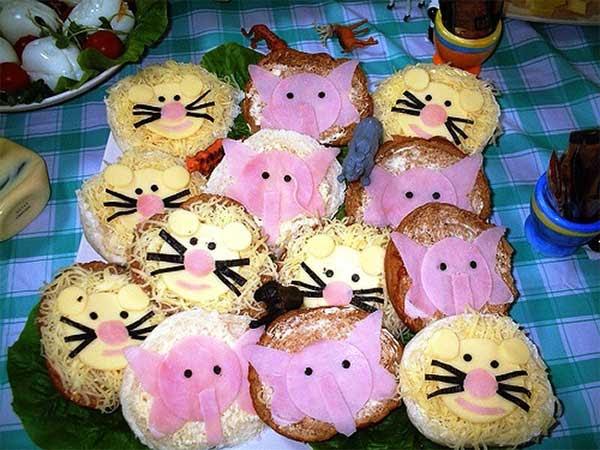 Бутерброды рецепты с фото для детей