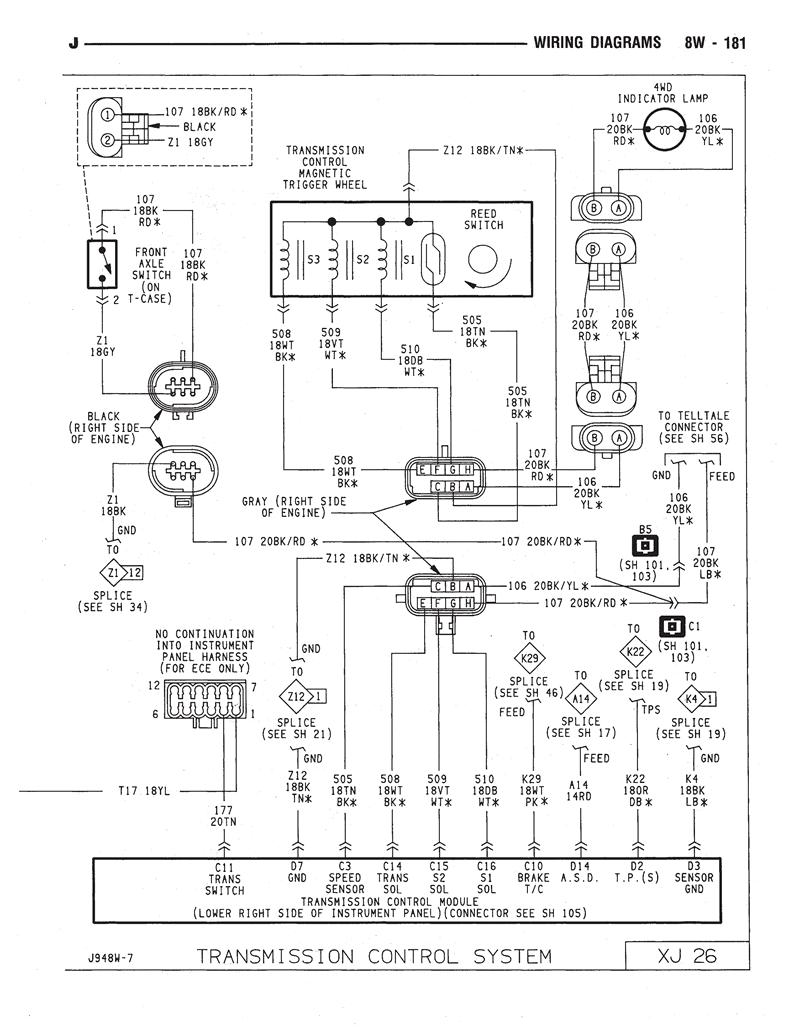 Jeep Aw4 Wiring Diagram Trailer Wiring Bracket Light Begeboy Wiring Diagram Source