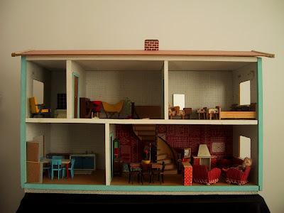 Vintage 1957 Lundby dolls' house.