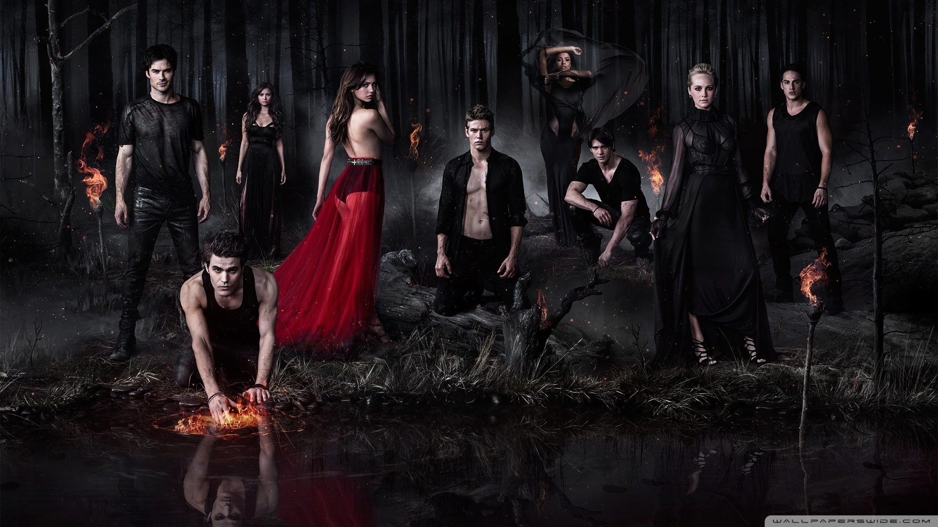 Vampire Diaries Wallpapers 77 Images