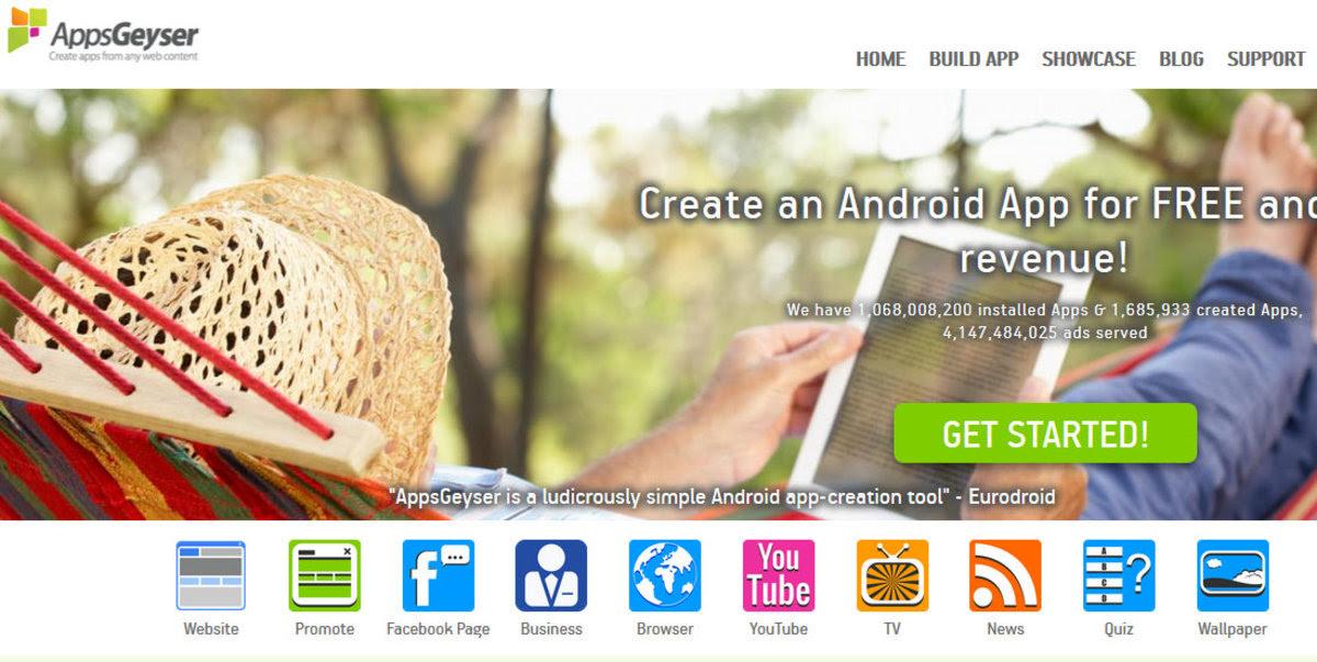 Pembuat Android App terbaik