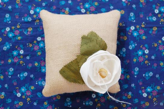 a ring pillow