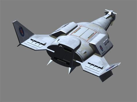 AMT Leif Ericson Galactic Cruiser and U.F.O Mystery Ship