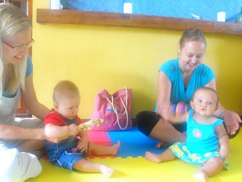 Barullo, clases para bebés