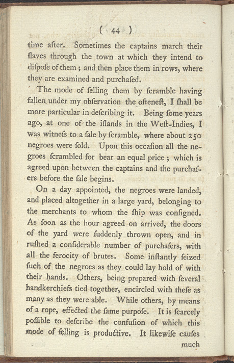 An Account Of The Slave Trade -Page 44