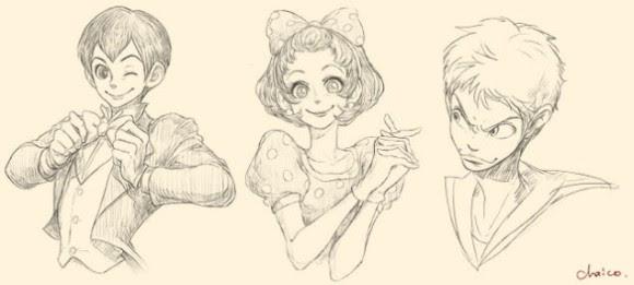 ディズニーのキャラクターを擬人化ミッキーが少年マンガの主人公みたい