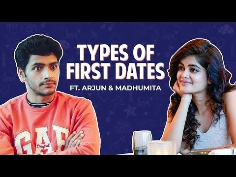 Types of First Dates with Arjun Chakraborty & Madhumita Sarkar for bengali movie Love Aaj Kal Porshu