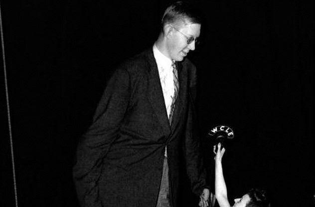Robert Wadlow el mas alto de la historia