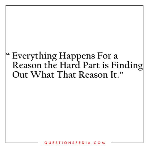 Bible Quotes Everything Happens Reason