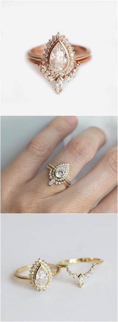 Best 25  Pear diamond rings ideas on Pinterest   Pear