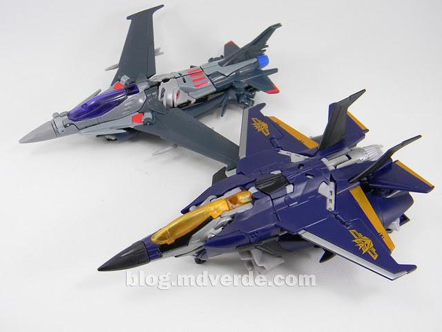Transformers Dreadwing - Prime RID - modo alterno vs Starscream