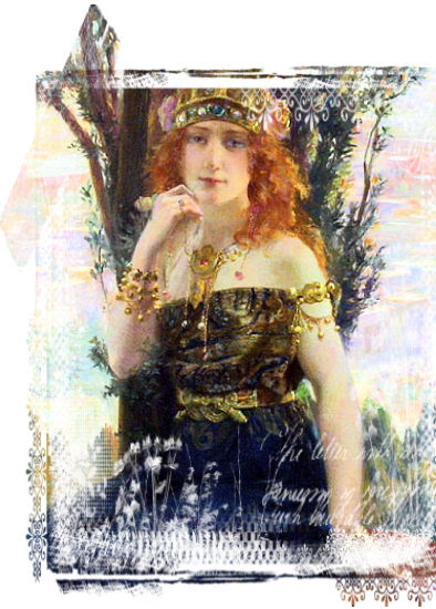 Die Rabenfrau Bild von Gaston Bussière (1862-1928)