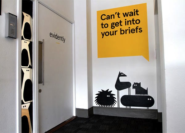 Quirky Redesign For London Creative Agency Features Cheeky Wall