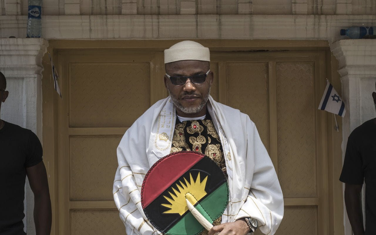 Biafra: FG speaks on Nnamdi Kanu's whereabouts, reveals why he is hiding