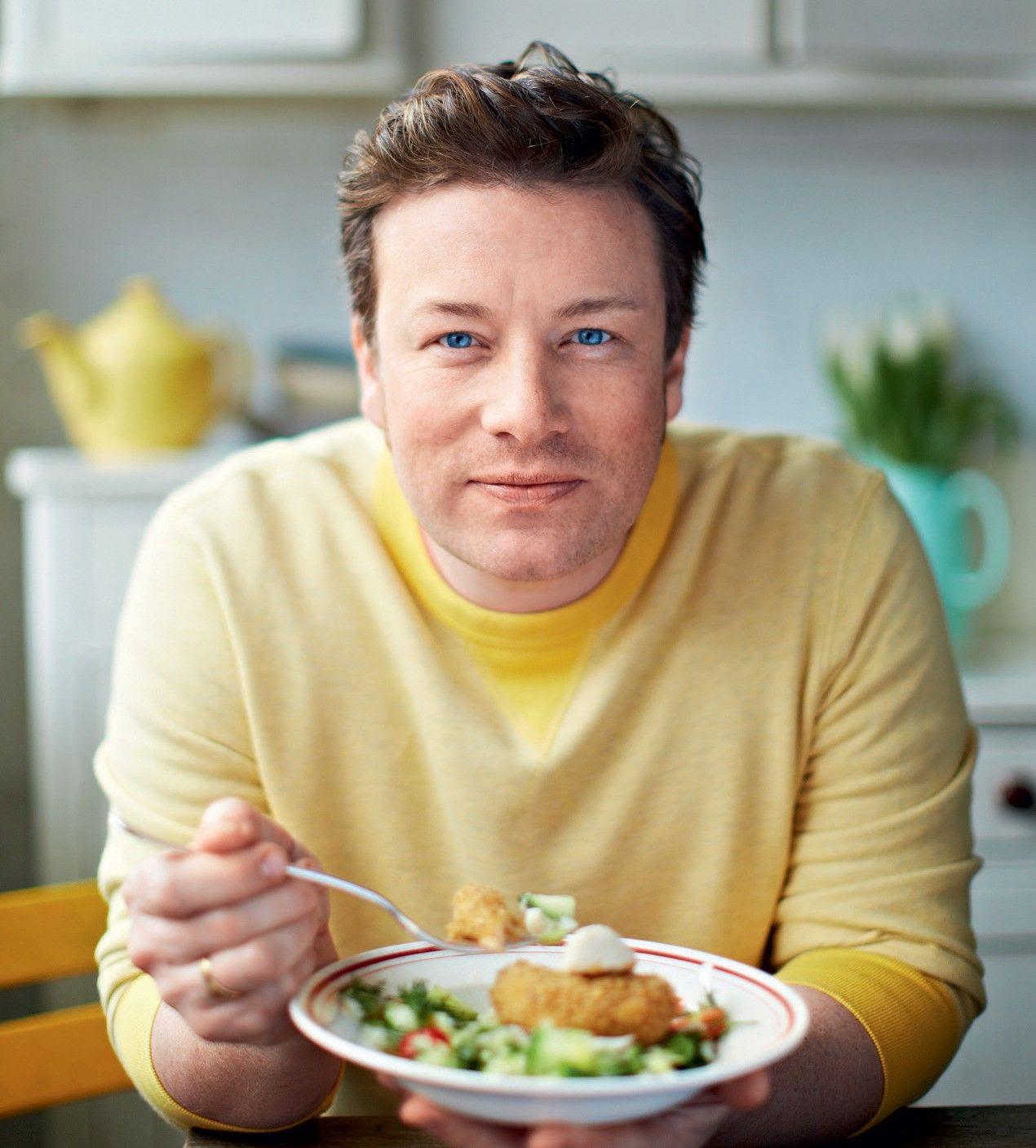 O chef Jamie Oliver promove a campanha educativa Food Revolution Day  / Divulgação