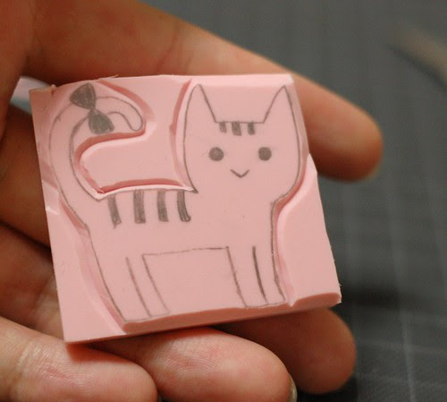 How to carve a stamp 10
