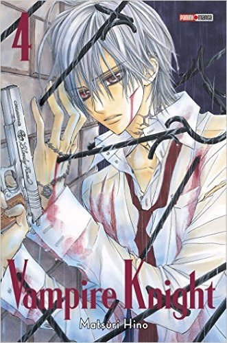 Couverture Vampire knight, tome double, tome 4