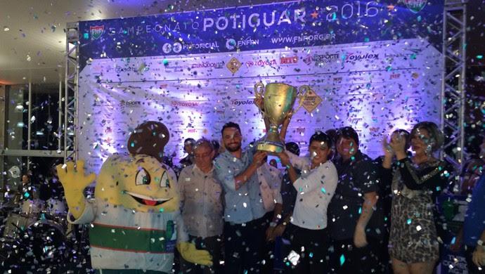 ABC campeão Prêmio Craque Potiguar (Foto: Augusto Gomes/GloboEsporte.com)