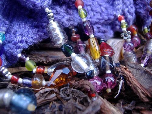 closeup beads