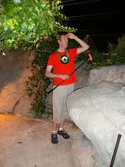 Pete and his lei at Hawaiian Village Golf