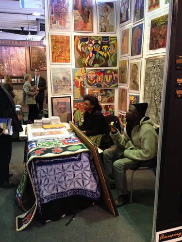 Nigerian artists @ ArtExpo New York 2013