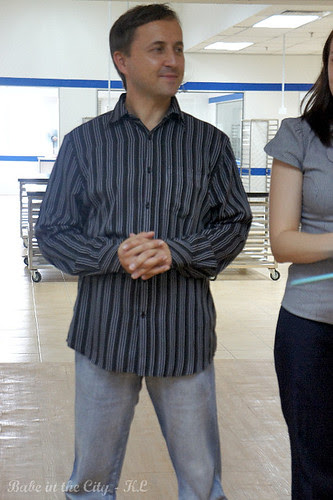 Chef Matthias Schuebel