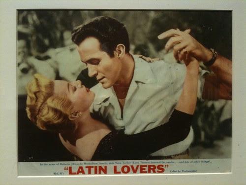 Lobby Card: Latin Lovers