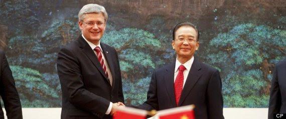 Canada China Fipa
