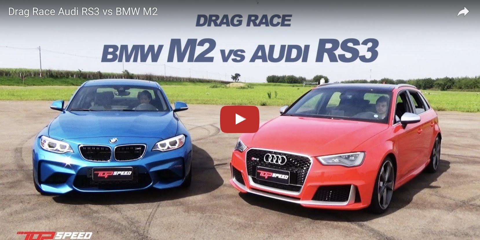 Bmw M3 Vs Audi Rs3 Drag Race