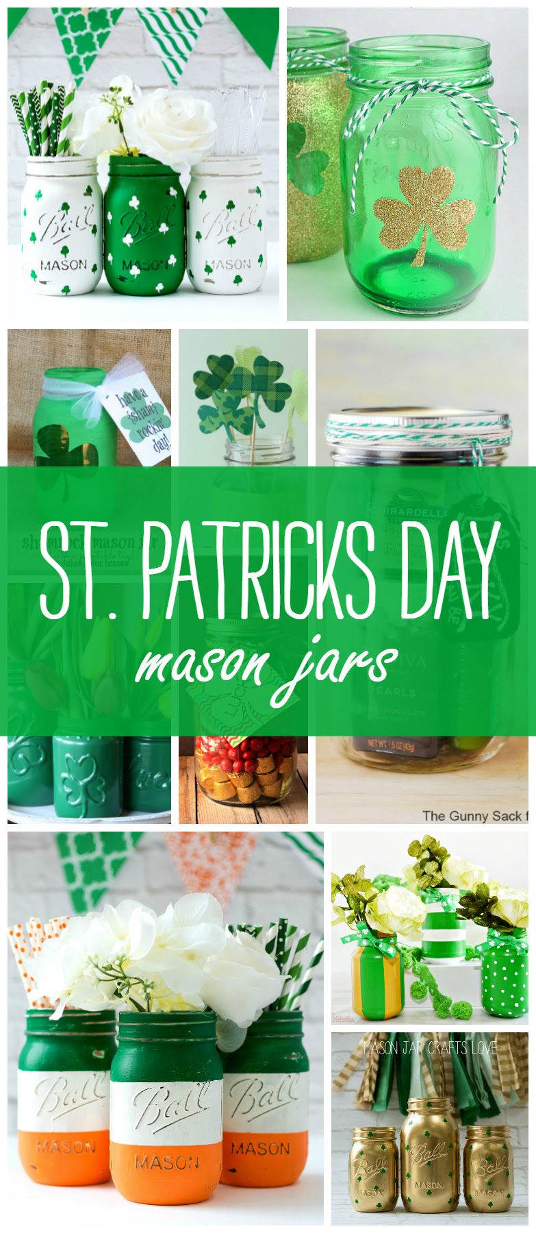 St Patricks Day Crafts Recipes In Mason Jars Mason Jar Crafts Love