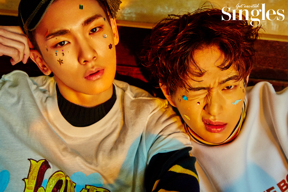 Key, Onew (SHINee) - Singles Magazine December Issue '16