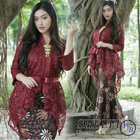 model baju pesta duyung batik
