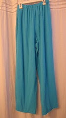 Crinkle gauze pants to wear with the cape and on cool summer nights