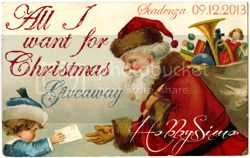 HobbysSimo - I all want for Christmas - Giveaway