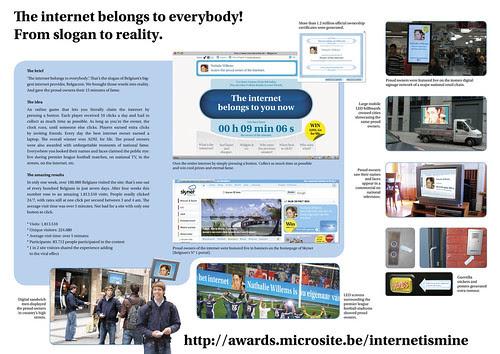 Belgacom: Internet is mine