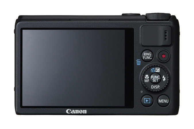 Canon Powershot S100 - Rear View