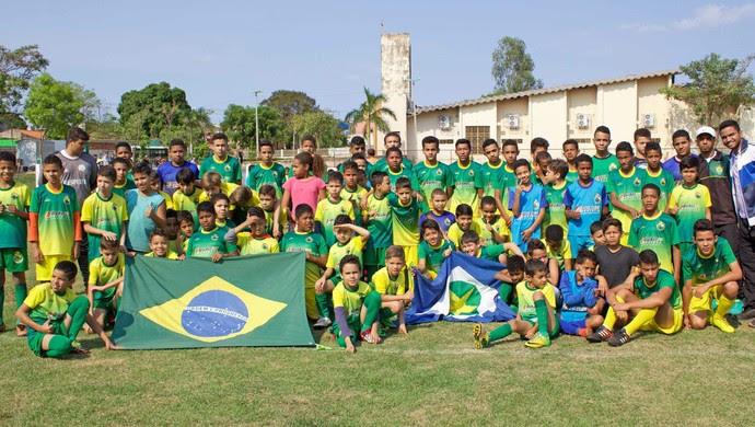 Projeto social Craque Dourado (Foto: Pedro Lima/Cuiabá EC)