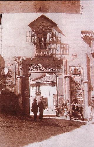 Corral de Don Diego (Toledo) a principios del Siglo XX. Foto Rodríguez.