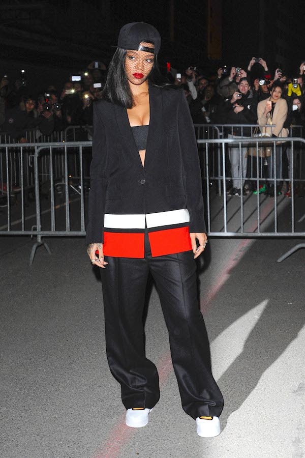 Celebrities attend Givenchy's Fall 2014 Fashion Show at PFW **USA, Canada ONLY**