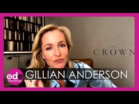 Gillian Anderson Talks Crown + Yext Interview