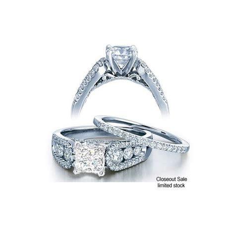 1.00 Carat GIA CERTIFIED Princess cut Perfect Bridal Set