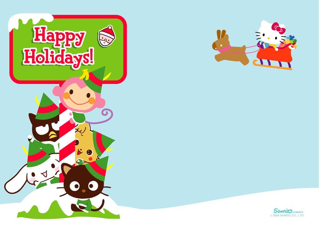 クリスマス 壁紙 サンリオ 壁紙 56124 ファンポップ