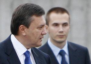 Старший сын Януковича сформировал и возглавил набсовет собственной бизнес-корпорации