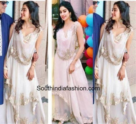 Jhanvi kapoor in Anamika Khanna ? South India Fashion