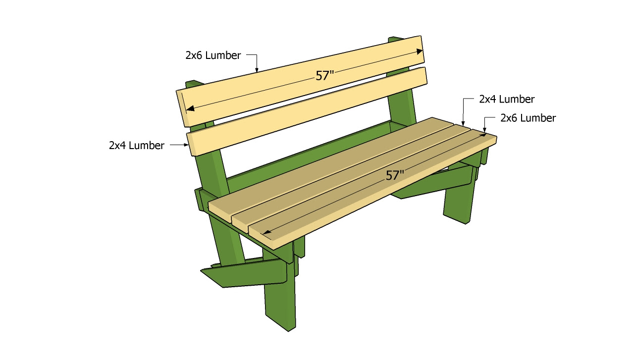 Swell Free Outdoor Bench Plans Woodworking Easy Small Creativecarmelina Interior Chair Design Creativecarmelinacom