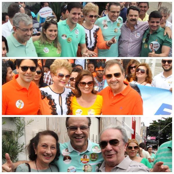 ex_governadores com Henrique e Wilma
