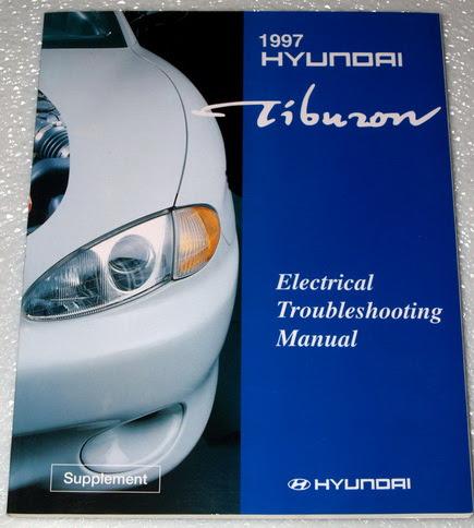 1997 HYUNDAI TIBURON BASE, FX COUPE Electrical ...